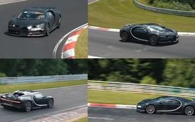 Bugatti mang tận 2 Chiron đi chạy thử, có thể sắp giới thiệu phiên bản mới