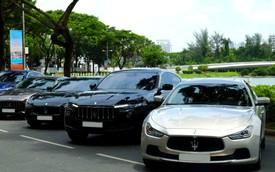 Offline kiểu đại gia: Mang dàn xe sang Maserati đi thưởng trà tại Sài Gòn