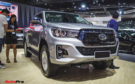 Cạnh tranh Ford Ranger, Toyota Hilux có giá mới sớm cho khách Việt, đổi thiết kế và nâng cấp trang bị an toàn