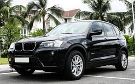 BMW X3 6 năm tuổi có giá rẻ hơn đàn em BMW X1 mua mới