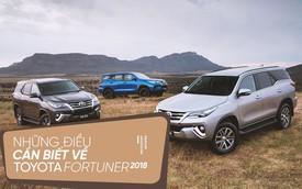 [Photo Story] Những điểm đáng chú ý nhất về Toyota Fortuner 2018 sắp bán tại Việt Nam