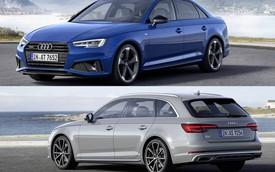 Audi lặng lẽ ra mắt A4 Sedan, Avant 2019