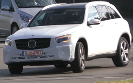 Mercedes-Benz GLC 2019 bất ngờ xuất hiện