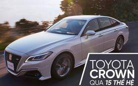[Photo Story] Toyota Crown và hành trình lột xác lên xe sang qua 15 thế hệ