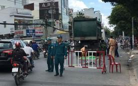 Người phụ nữ bị xe chở rác cán tử vong ở Sài Gòn