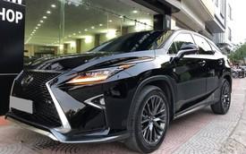 Lexus RX 350 F-Sport 2016 đi 19.000km bán lại giá vẫn gần 4,2 tỷ đồng