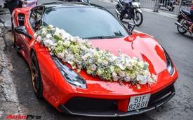 """""""Ma trận"""" siêu xe và xe siêu sang trong đám cưới tại Sài Gòn: Hoa mắt không biết đâu mới là xe dâu"""