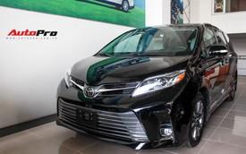 Chi tiết Toyota Sienna Limited 2018 giá 4 tỷ đồng vừa về Việt Nam