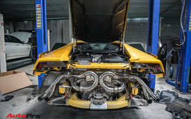 Lamborghini Huracan độ Mansory từng của Cường Đô-la đổi pô FI trị giá ngang một chiếc Kia Morning van