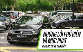 [Photo Story] Những lỗi phổ biến và mức phạt mà tài xế Việt cần biết
