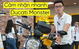 Cảm nhận nhanh Ducati Monster 821 2018 giá 400 triệu đồng
