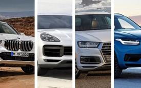 BMW X5 vs Porsche Cayenne vs Volvo XC90 vs Audi Q7: Ai là kẻ nổi bật nhất trong làng xe sang?