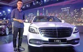 Cảm nhận nhanh phiên bản rẻ nhất của Mercedes-Benz S-Class 2018 tại Việt Nam