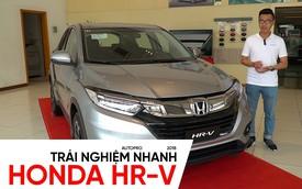 Trải nghiệm nhanh Honda HR-V vừa về đại lý, đấu Ford EcoSport bằng giá dưới 900 triệu đồng