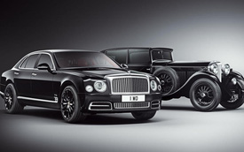 Bentley Mulsanne W.O Edition - Xe siêu sang mừng sinh nhật trăm tuổi