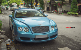 """Bắt gặp """"hàng hiếm"""" Bentley Continental GTC tại Hà Nội"""