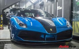 Siêu xe Ferrari 488 GTB của dân chơi Đà Lạt độ bodykit SVR trị giá hàng trăm triệu đồng