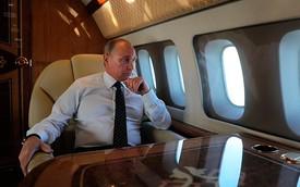 Đây là chuyên cơ riêng của tổng thống Putin, có cả Gym riêng và toilet mạ vàng