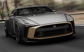 Nissan GT-R lột xác với bản kỷ niệm 50 năm