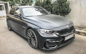 BMW 320i F30 độ kiểu M3 và lên vành hàng hiệu bán lại giá chưa đến 1 tỷ đồng