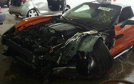 Chevrolet Corvette Grand Sport đi chưa được 25 km đã gặp tai nạn, chủ xe bán tháo với giá chỉ bằng 1/10