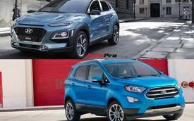 Ngoài động cơ tăng áp, Hyundai Kona còn có điểm gì để cạnh tranh Ford EcoSport tại Việt Nam?