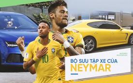 """""""Kịch sĩ sân cỏ"""" Neymar đang sở hữu dàn xe khủng cỡ nào?"""