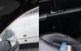 Ngồi trong ô tô, nước chảy tồ tồ - Người sử dụng xe trang bị cửa sổ trời cần cảnh giác