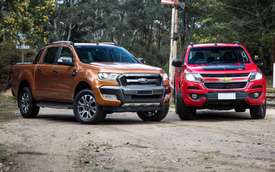 Thiếu trang bị, Ford Ranger 2018 đánh mất ngôi vua công nghệ bán tải tại Việt Nam cho Chevrolet Colorado