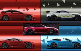 Aston Martin DBS Superleggera hóa thân thành 5 cấu hình mới quyến rũ không kém