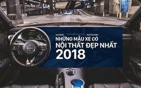 10 xe có nội thất đẹp nhất 2018 - Thiếu vắng S-Class và 7-Series