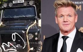 Chán Ferrari, siêu đầu bếp Gordon Ramsay tậu thêm SUV vô cùng đặc biệt trong Điệp viên 007