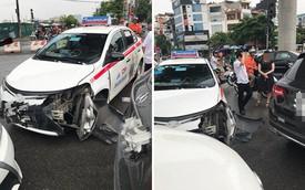 2 ô tô xảy ra va chạm, lời lý giải của tài xế taxi khiến dân mạng lao vào cuộc tranh luận