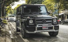 Mercedes-Benz G63 AMG bản độ Brabus hầm hố 780 mã lực của đại gia Hà Nội