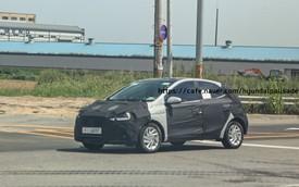 Lộ ảnh thử nghiệm đầu tiên của Hyundai Grand i10 thế hệ mới