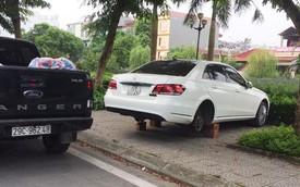 Bị đạo chích trộm gương và bánh xe 2 lần, chủ chiếc Mercedes-Benz còn nhận thêm chỉ trích từ cộng đồng