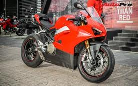 """Đổi chủ, Ducati Panigale V4S đầu tiên Việt Nam được """"lên đời"""" ống xả gần 200 triệu đồng"""