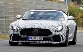 Mercedes-AMG GT R Roadster: Siêu xe mui trần mới cạnh tranh Porsche 911