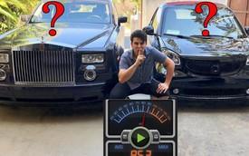 Xe siêu sang Rolls-Royce hay xe điện yên tĩnh hơn?