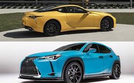 Lexus ra mắt phiên bản đặc biệt đầy màu sắc cho LC và UX