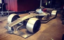 Đam mê F1, thanh niên tự chế xe đua từ động cơ Ferrari
