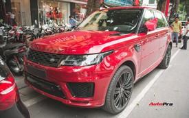 Dân chơi Lào sang Việt Nam bằng Range Rover Sport 2018 gây xôn xao