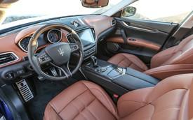 Chi tiết thú vị trên nội thất Maserati nhưng hay bị bỏ qua