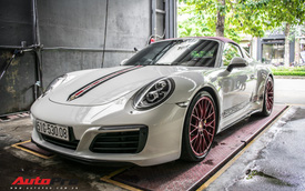 Porsche 911 Targa 4S độc đáo của đại gia Sài Gòn sở hữu nhiều xe khủng