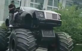 Rolls-Royce Phantom Drophead Coupe độ như xe tải hạng nặng khiến người người khóc thét