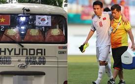 Trước trận U23 Việt Nam - U23 Hàn Quốc, xe khách tiên tri xuất hiện khiến CĐV xôn xao