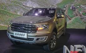 Ford Everest 2018 giá từ hơn 1,1 tỷ đồng, phả hơi nóng lên Toyota Fortuner