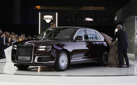 Aurus Senat - Sedan quốc dân hạng sang của Nga trông như Rolls-Royce