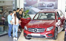 Triệu hồi nhiều xe Mercedes-Benz GLC tại Việt Nam