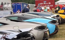 """Festival tốc độ Goodwood - Bãi đỗ xe """"chất"""" không kém triển lãm danh tiếng nào"""